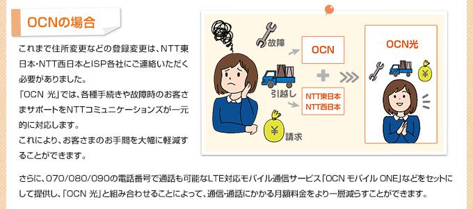 OCNの場合